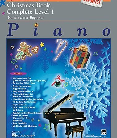 Christmas Book Complete Level 1: Top Hits! (Alfred's Basic Piano Library) [Paperback]