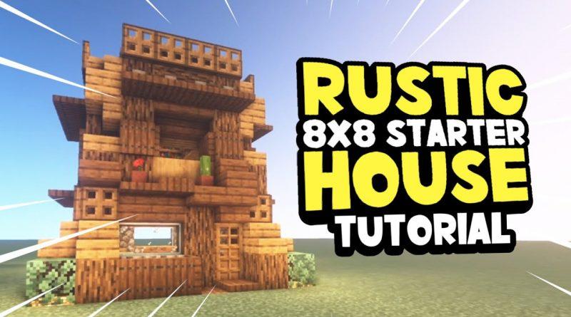 Rustic 8x8 Starter House Minecraft How To Build Tutorial Design Idea Game Designers Hub