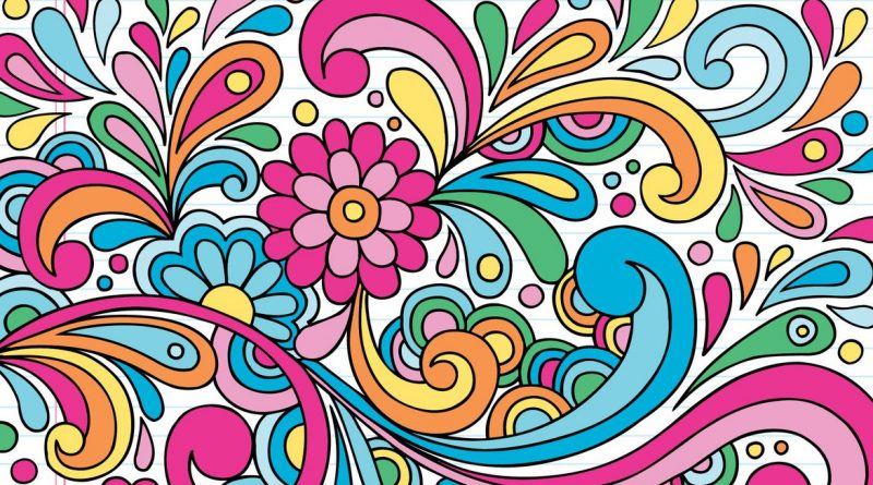 Notebook Doodles Color Swirl: Coloring & Activity Book ...