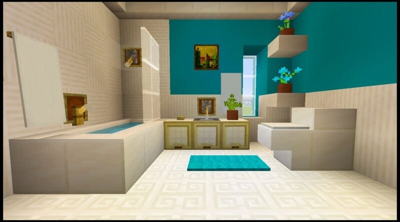 4 Cool & Creative Minecraft Bathroom Design Ideas ...