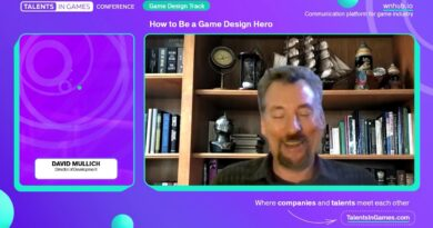 David Mullich, Director of Development – How to Be a Game Design Hero